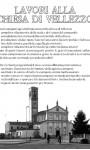 Lavori chiesa Vellezzo Bellini