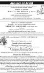 Annunci e avvisi (Bollettino n°80)