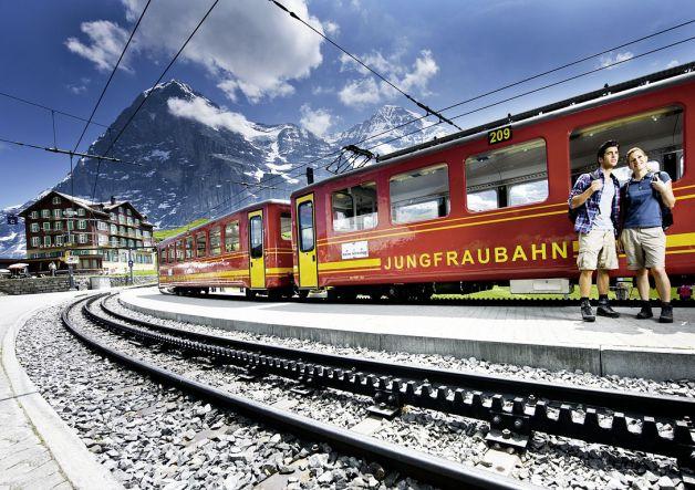 Jungfrau-treno