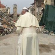 Il Papa per le zone terremotate