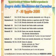 Sagra Madonna del Carmine 2018 – dal 7 al 16 luglio