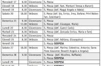 Calendario (Bollettino n. 148/2019)