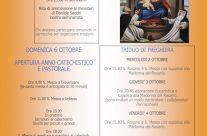 Madonna del Rosario e apertura anno catechistico 2019 – 2020