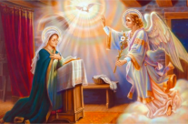 Al sesto mese, l'angelo Gabriele fu mandato da Dio…