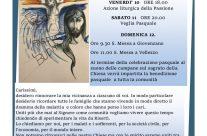 Settimana Santa Pasqua di Resurrezione