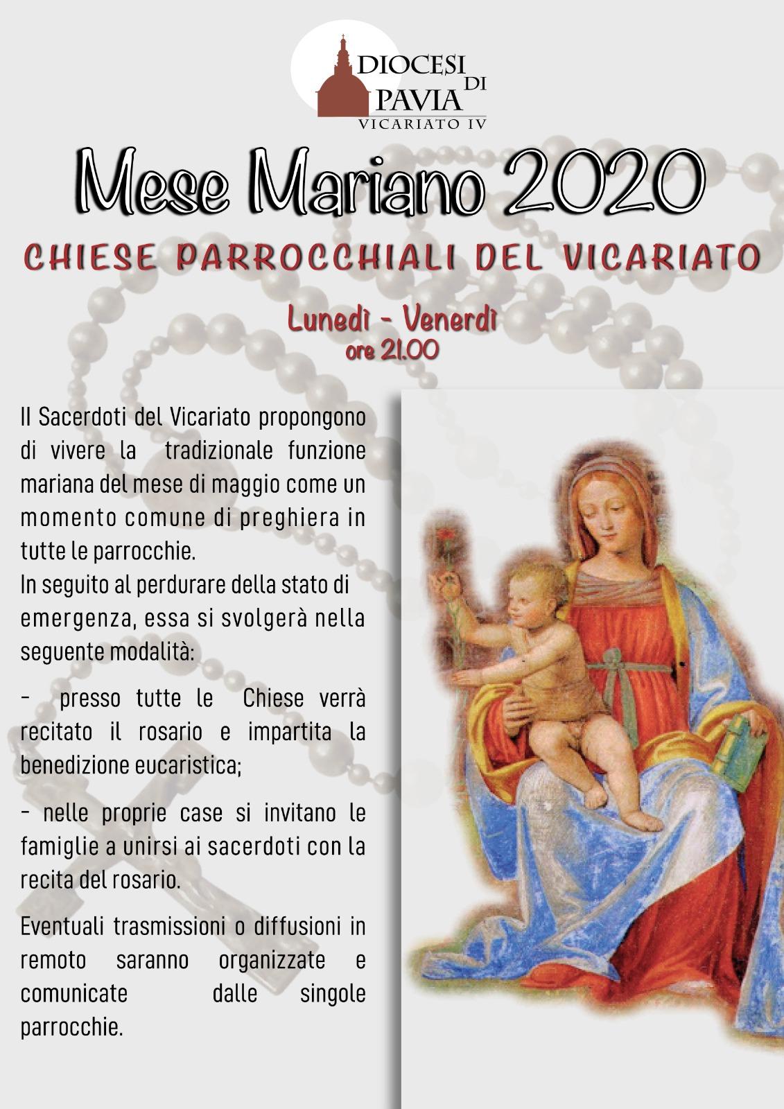 Mese Mariano 2020
