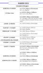 Calendario liturgico dal 21 al 28 marzo 2021